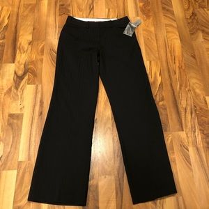 Worthington black stripe dress pants size 2P